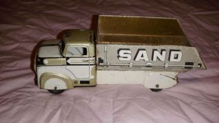Marx Sand and Gravel Toy Truck