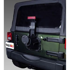 Jeep Wrangler Spare Tire Mount
