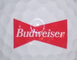 1 Budweiser Beer Alcohol Logo Golf Ball Balls
