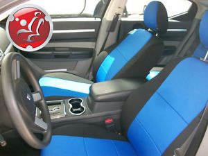Coverking NEOSUPREME Custom Fit Front Seat Covers for DODGE CHARGER