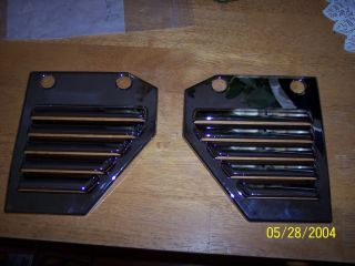 05 Hummer H2 Engine Side Vent Covers Chrome