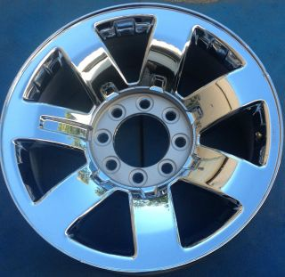 "One 2008 2009 Hummer H2 20"" Factory Chrome Wheel Rim 6310 P35 Used Good"