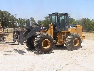 2006 John Deere 624J Rubber Tire Wheel Loader
