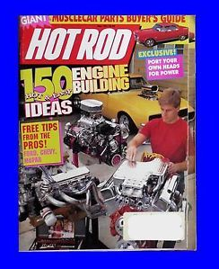 Hot Rod May 1991 Engine Building Idea Ford Chevy Mopar Musclecar Hotrod Magazine