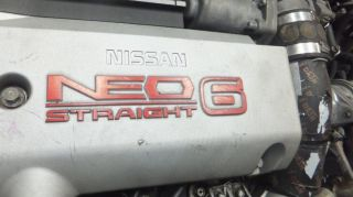 JDM Nissan Skyline GT s R34 RB25DET Turbo Neo Engine 5SPEED Transmission RB25