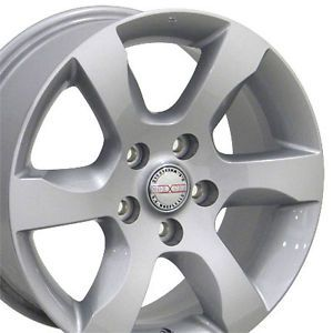 "16"" Nissan Altima Silver Wheels Set of 4 62479 Rims Leaf Maxima Rogue Q45"