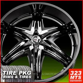 "32"" Diablo Elite Rims Hummer H2 Escalade Yukon Wheels Diablo Elite Tires"