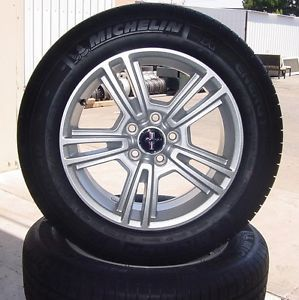 "Ford Mustang 2005 2013 17"" inch Wheel Michelin Tire Wheels Tires"