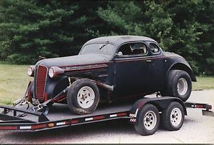 1936 Dodge 5 Window Coupe Chopped Top Classic Rat Rod Hot Rod Jalopy Scca