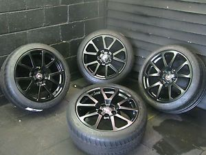 Black cts V Coupe Only Factory Cadillac Wheels Rims Tires 4648 4677 Michelin