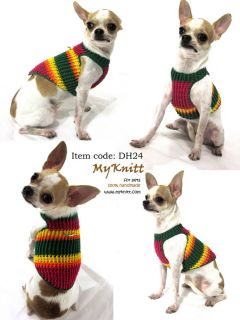 Designer Dog Harnesses Pet Clothing Puppy Walk Teacup Chihuahua DH24 Size XXS