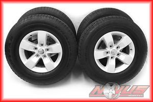 "17"" Dodge RAM Durango Alloy Wheels Goodyear Tires Factory 18 20 2013"