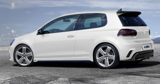 "18"" Hyper Silver Wheels Fits VW Golf R R32 GTI Jetta MK5 MKV MK6 Mkvi Rims"