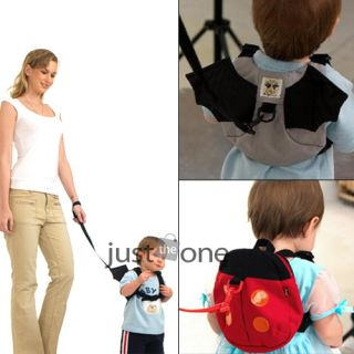New Cute Style Baby Kid Keeper Toddler Safety Harnesses Strap Backpack Bag Band
