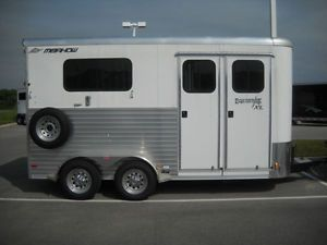 Two Horse Trailer 2012 Merhow Equistar XL