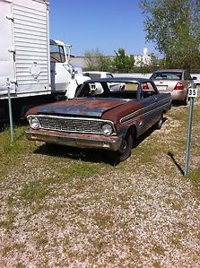 1964 Ford Falcon Futura 2dr Hardtop Rat Rod Gasser Hot Rod Project Barn Find