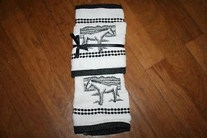 Horse Dish Towels Trailer Cowgirl Horse Lover Towels 2 Western Decor