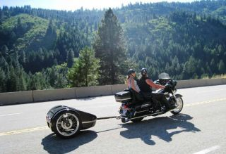 Meyers Sport Touring Motorcycle Trailer Tow or Pull Behind