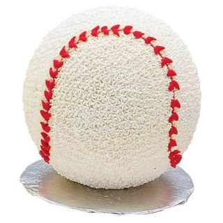 Wilton 3D Sports Ball Cake Pan Set 3 D Baseball Soccer Tennis