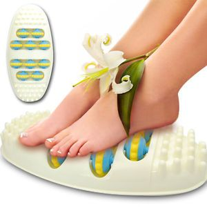 Self Health Care Blood Circulation Stimulate Oval Shaped Foot Roller Massager