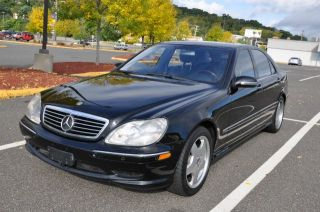 Mercedes Benz s Class S55 AMG Black Beauty One Owner Clean Carfax
