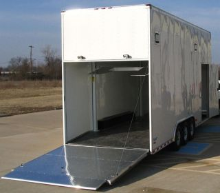 New Peterbilt motorhome 26' Stacker Trailer 2 Car