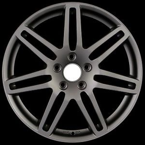 "18"" RS4 Wheels Rims Matte Gunmetal Fit Audi A8 D2 D3 and D4 Chassis"