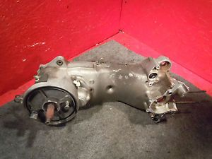2002 Yamaha Zuma YW50 Scooter Engine Crank Case Bottom End Motor Moped Motion
