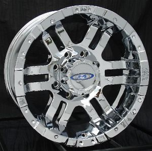16 inch Chrome Wheels Rims Ford F250 F350 8x170 Super Duty Truck Excursion 8 Lug