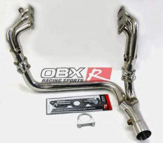 OBX Exhaust Header 95 96 97 98 99 Chevy Camaro 3 8L V6