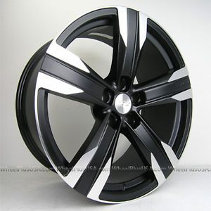 "20"" Chevy Camaro ZL1 Style Wheels Rims for Camaro SS ZL1 Staggered 4 New"