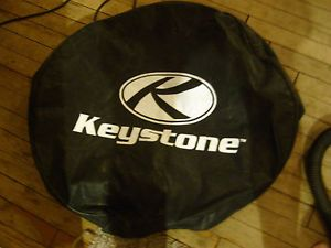 New RV Trailer camper Pop Up Keystone Universal Spare Tire Cover Black