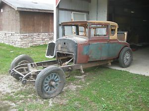 1928 REO Flying Cloud Rumble Seat Coupe Packard Cadillac Hot Rod Rat Rod