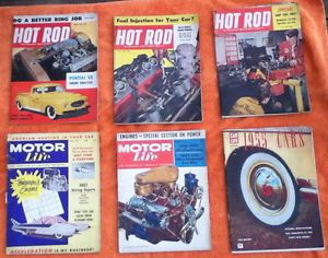 Hot Rod Magazine 1955