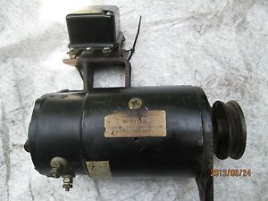 Case Garden Tractor Starter Generator with Voltage Regulator Vintage Kohler Eng