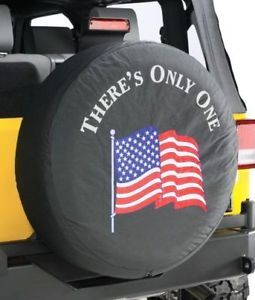 Genuine Mopar Jeep American Flag Spare Tire Cover Mopar Accessory