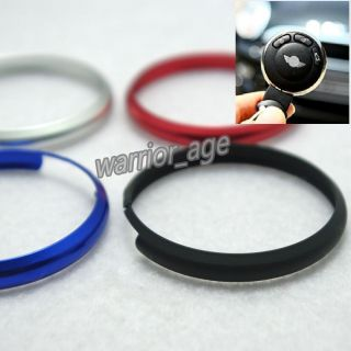 Key Ring Decor Trim Ring Rim Fit BMW Mini Cooper Roadster Cooper Clubman s Key