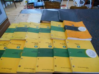 16 John Deere Tractors Parts Catalogs Manuals