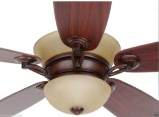 Hampton Bay Minorca 52in Indoor Ceiling Fan w Remote Control Light 434071