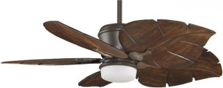 Fanimation MAD3260OB Tropical Indoor Outdoor Ceiling Fan with Remote Control