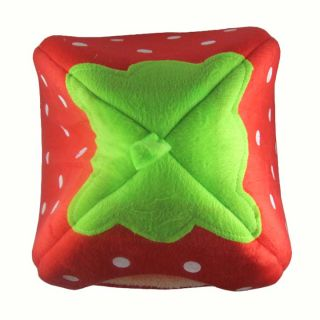USA Via USPS Cute Lovely Soft Super Cool Sponge Strawberry Pet Dog Cat House Bed