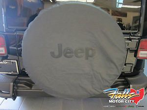 Jeep Wrangler Liberty Spare Tire Cover 82209949AB