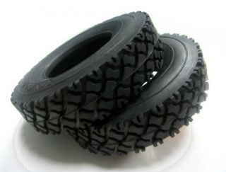 Tractor Truck Rubber Tire for Tamiya 1 14 Tractor Truck