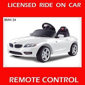 BMW Z4 Licensed Ride on Toy Car Remote Control Battery Operated Power Wheels RC