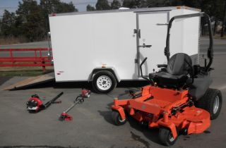 "New 60"" PZ6030 Husqvarna Zero Turn Lawn Mower Enclosed"