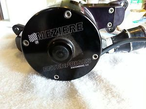 Meziere Water Pump WP111S for Small Block Ford Drag Race Engine