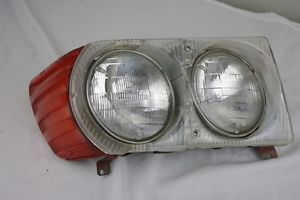 Mercedes W107 Bosch Headlight Assembly Passenger Side 380SL 450SL 450SLC 560SL