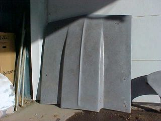 Cowl Induction Fiberglass Hood for 1966 OR1967 Chevy Chevelle U s Body Source