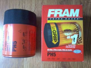 Fram PH5 Engine Oil Filter Chevy Chevrolet GMC GM OMC Mercruiser