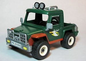 Playmobil Jeep Pickup Truck Light Bar Spare Tire Cover Deer Hunting Forest